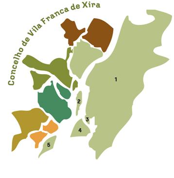mapa concelho vila franca de xira Freguesias | Município de Vila Franca de Xira mapa concelho vila franca de xira